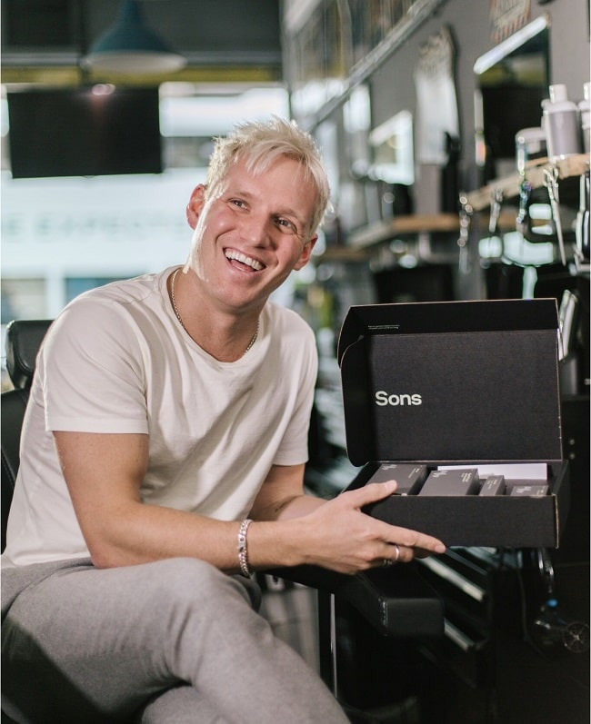 Hair Loss Solutions Passionately Backed by Jamie Laing