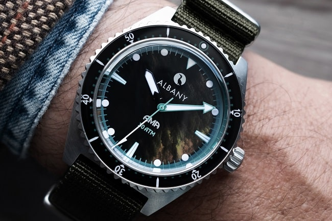 Discover the Ama Diver from ALBANY Watches