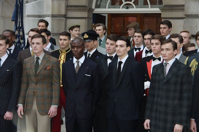 Is men's fashion in Britain the best in the world?