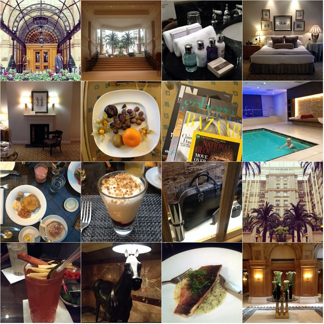 Our The Landmark London hotel experience