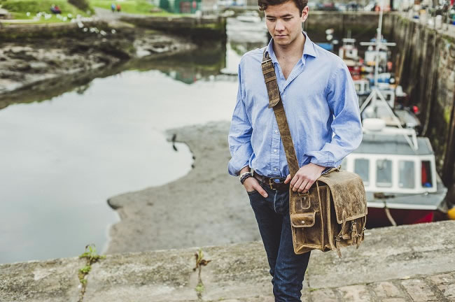 Win a £150 Scaramanga Leather Satchel