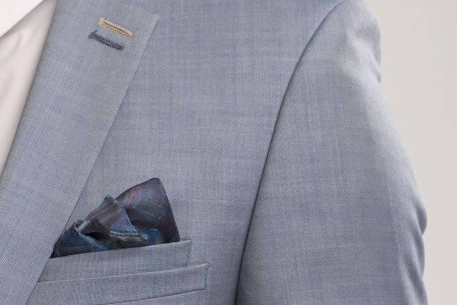 """There are a wide range of ways to wear pocket squares"""