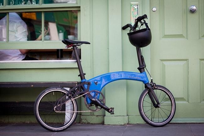 Hummingbird Creates Worlds Lightest Folding Bike