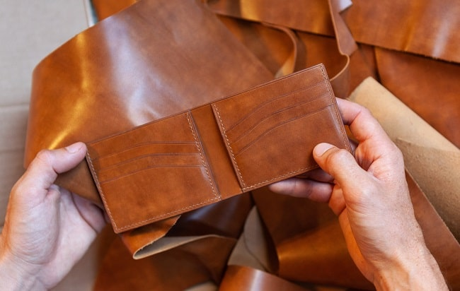 Introducing Far From Lost Leather Wallets