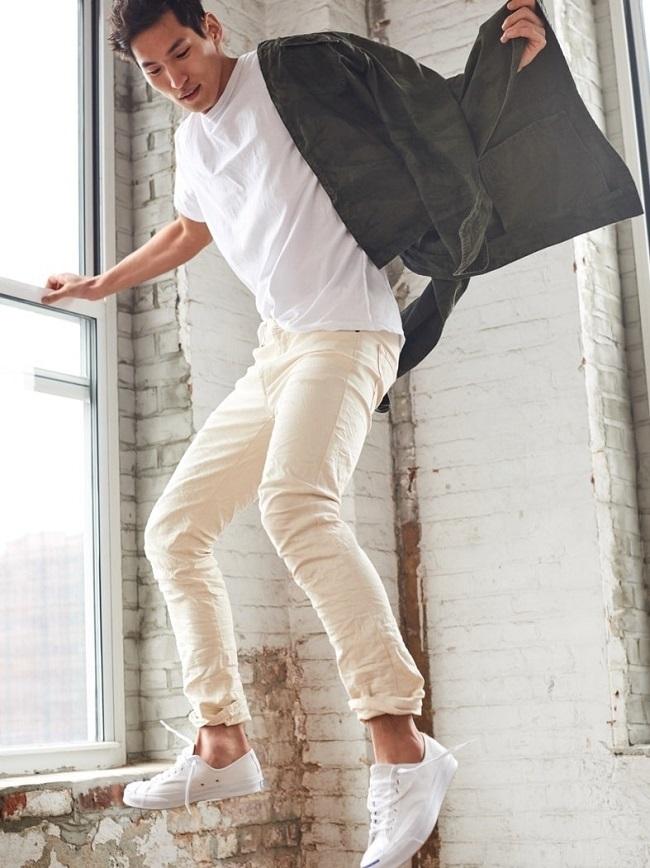 How Men Should Wear White Denim