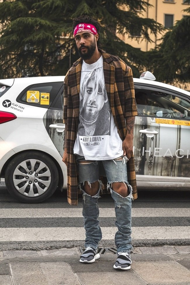 Jerry Lorenzo in Florence